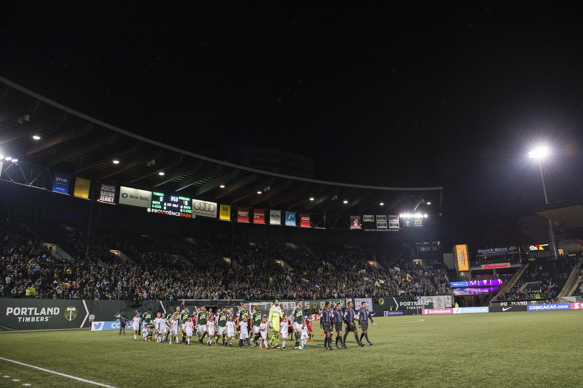 MLS: CONCACAF Champions League-Deportivo Saprissa at Portland Timbers