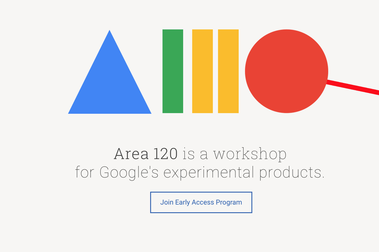 you can now sign up for early access to google s wacky area 120 app experiments