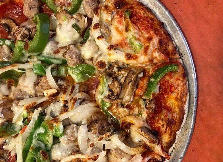 Giambotta pizza at Regina Pizza
