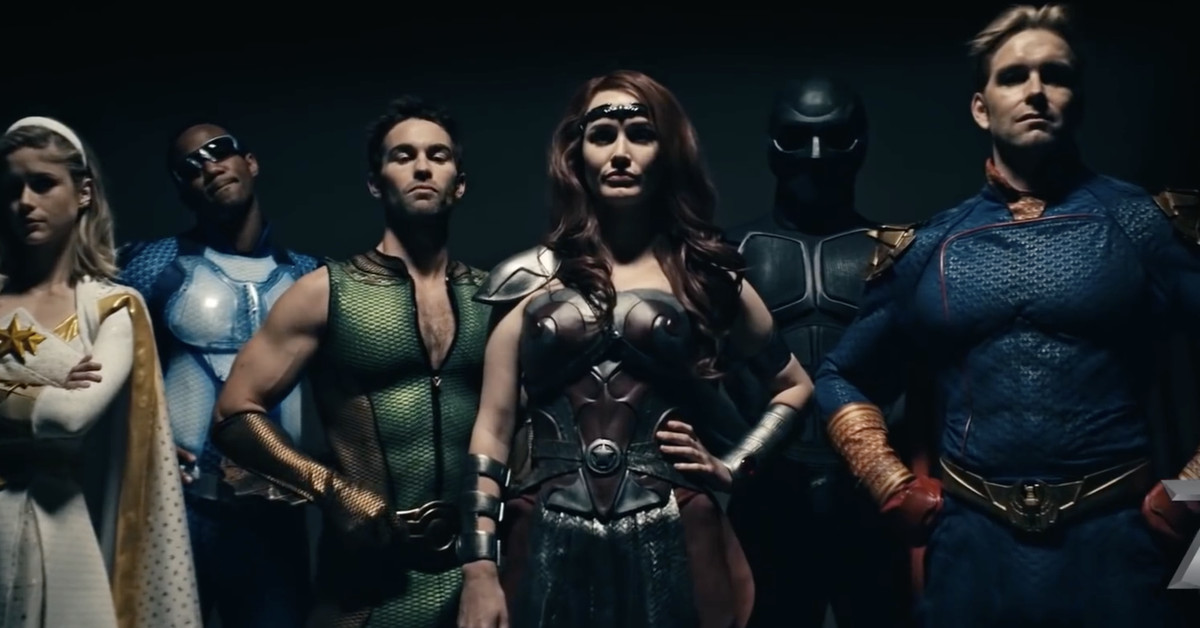 The trailer for Amazon's superhero adaptation The Boys is extremely NSFW