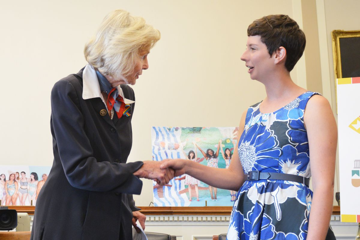 Rep. Lois Capps and ModCloth Founder Susan Koger