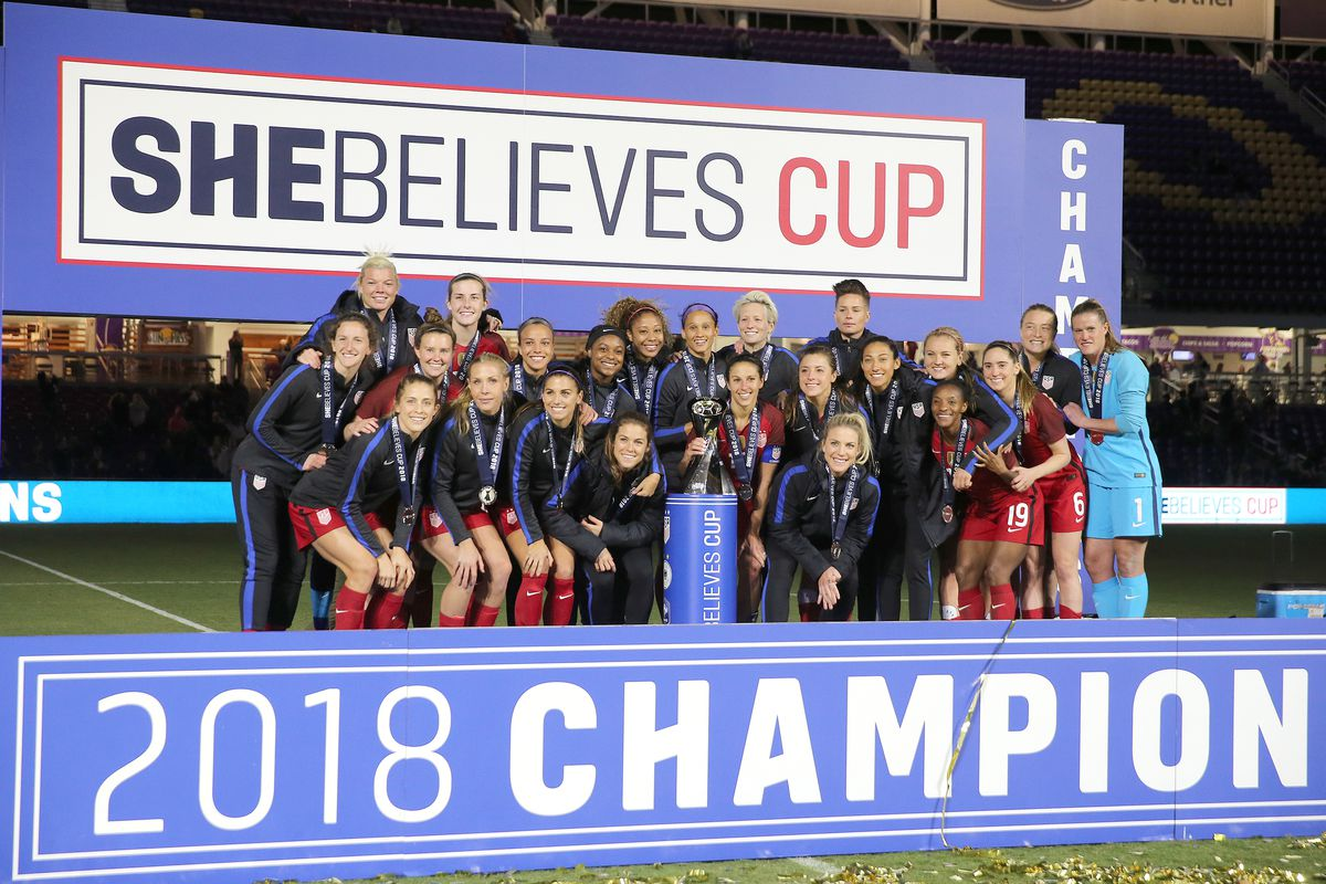 SheBelieves Cup - United States v England