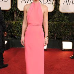 Claire Danes at the Golden Globe Awards in 2011.