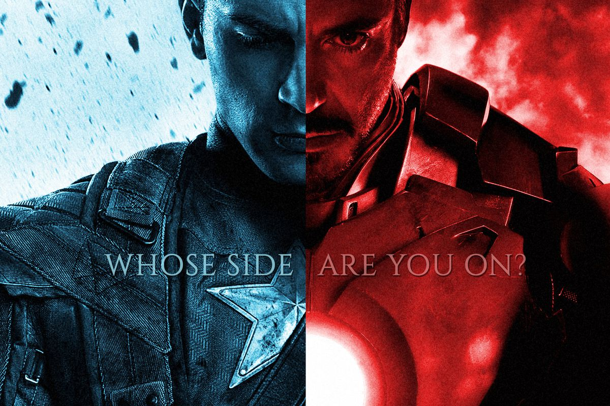 Captain America Civil War A Spoiler Filled Post Film Chat The Verge Iron Man Circuit Superhros Marvel Comics Logostore Marvels Hit Theaters This Weekend And Thus Far Films Combination Of Hero On Violence Ideological Exchanges Is