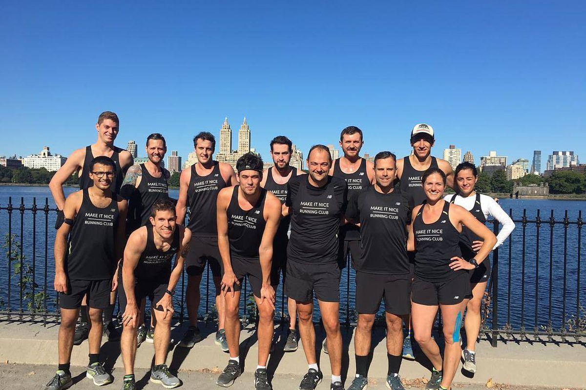Daniel Humm's running club