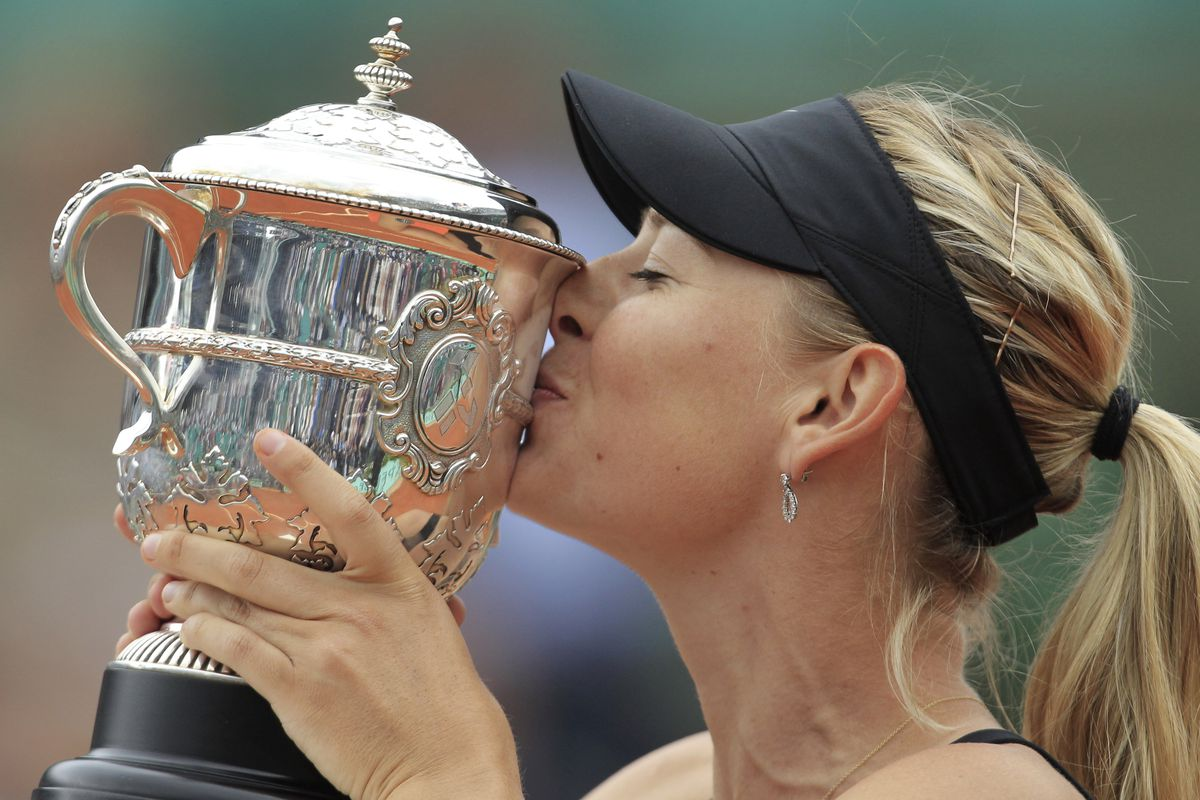 Maria Sharapova, who has been dealing with shoulder injuries, announced her retirement.