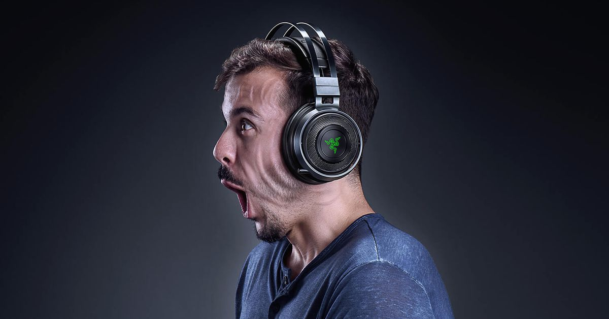 Razer Nari Ultimate gaming headset delivers force feedback to your ears