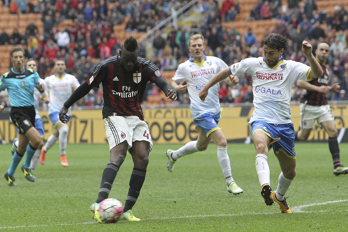 Mario Balotelli has scored on every occasion he's faced Bologna in Serie A