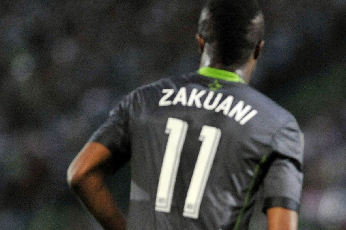 One of the most recent games Zakuani played in, back in April.