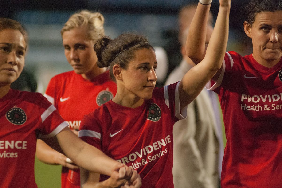 Vero has been a magician in the midfield for the Thorns.