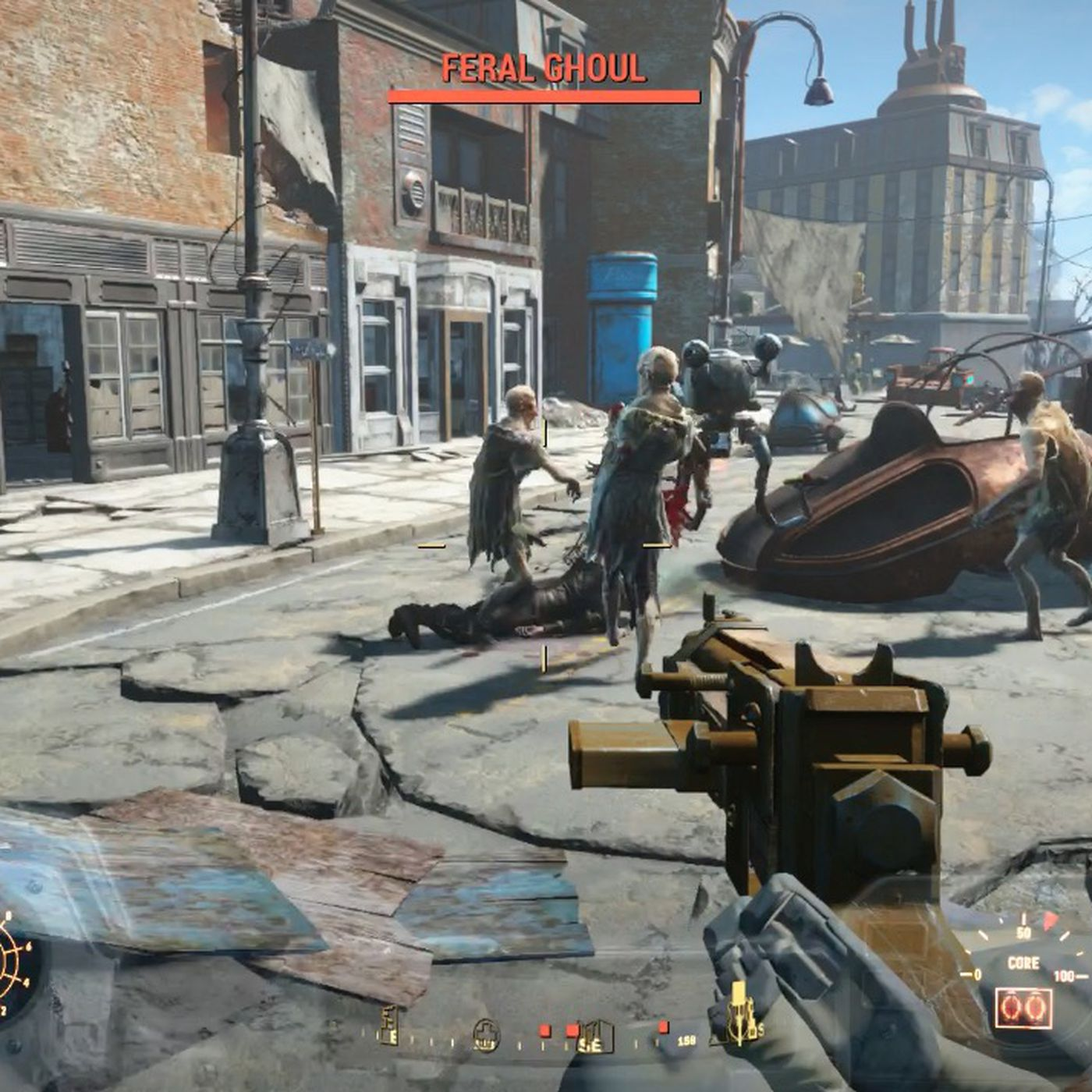 Fallout 4 Brotherhood Of Steel Quests Polygon