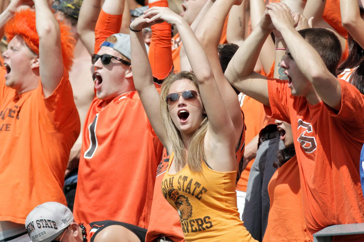 Oregon State barely missed the BlogPoll Top 25 college football rankings. CougCenter would like to re-cast its ballot and put this fan at No. 1.