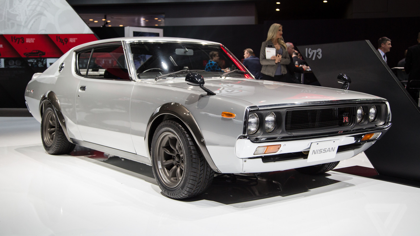 Nissan's vintage Skylines are the most beautiful cars at ...