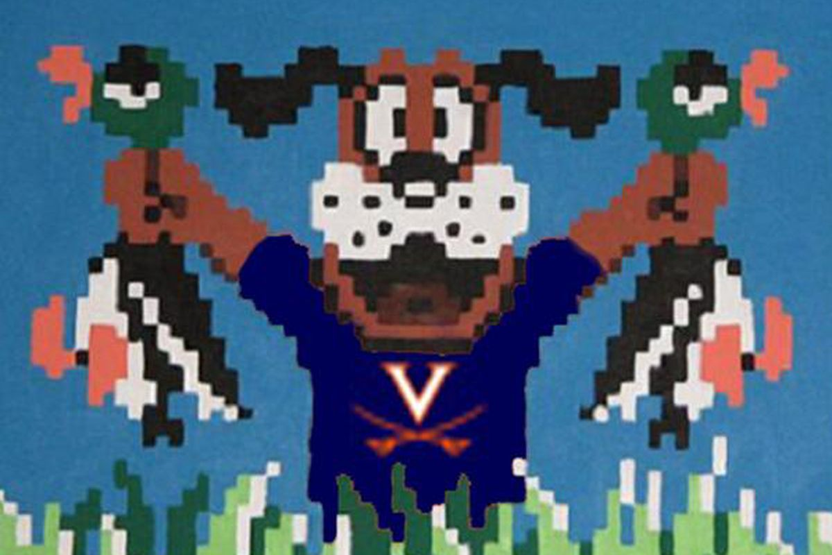 Hoos take on Nike this weekend and look to get in touch with their inner Nintendo dog.