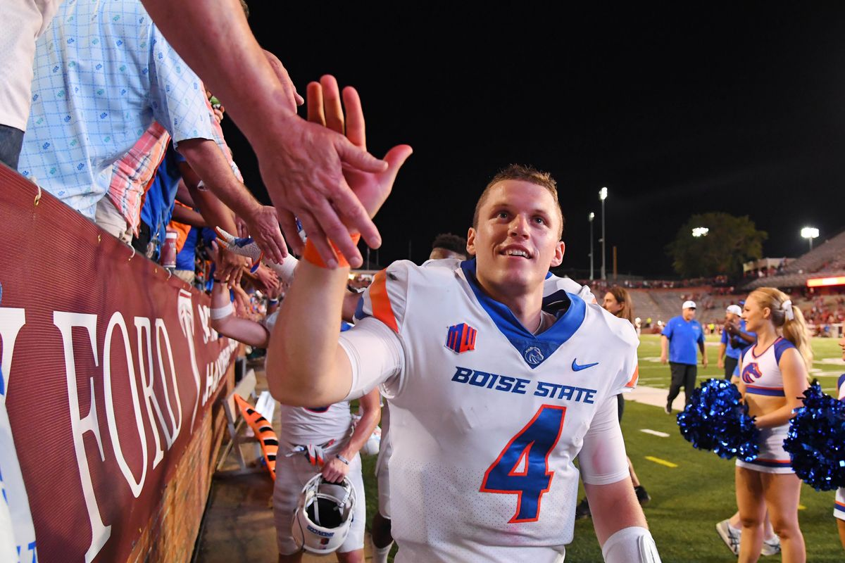newest collection ede38 dbbc1 Boise State's Brett Rypien selected as Mountain West ...