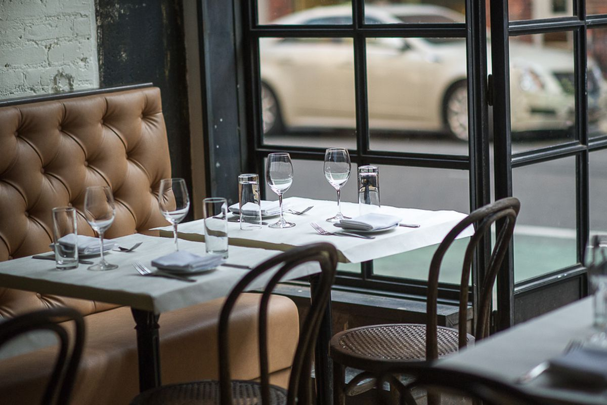 [A table at The Little Prince in Soho]
