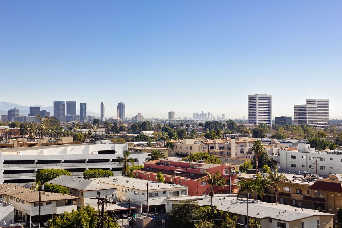 View of apartments in Los Angeles