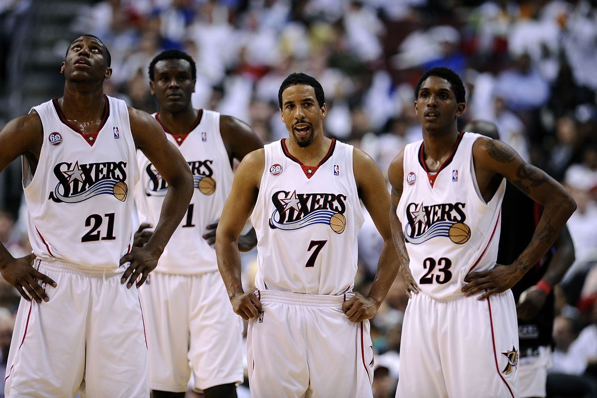 Orlando Magic v Philadelphia 76ers, Game 3