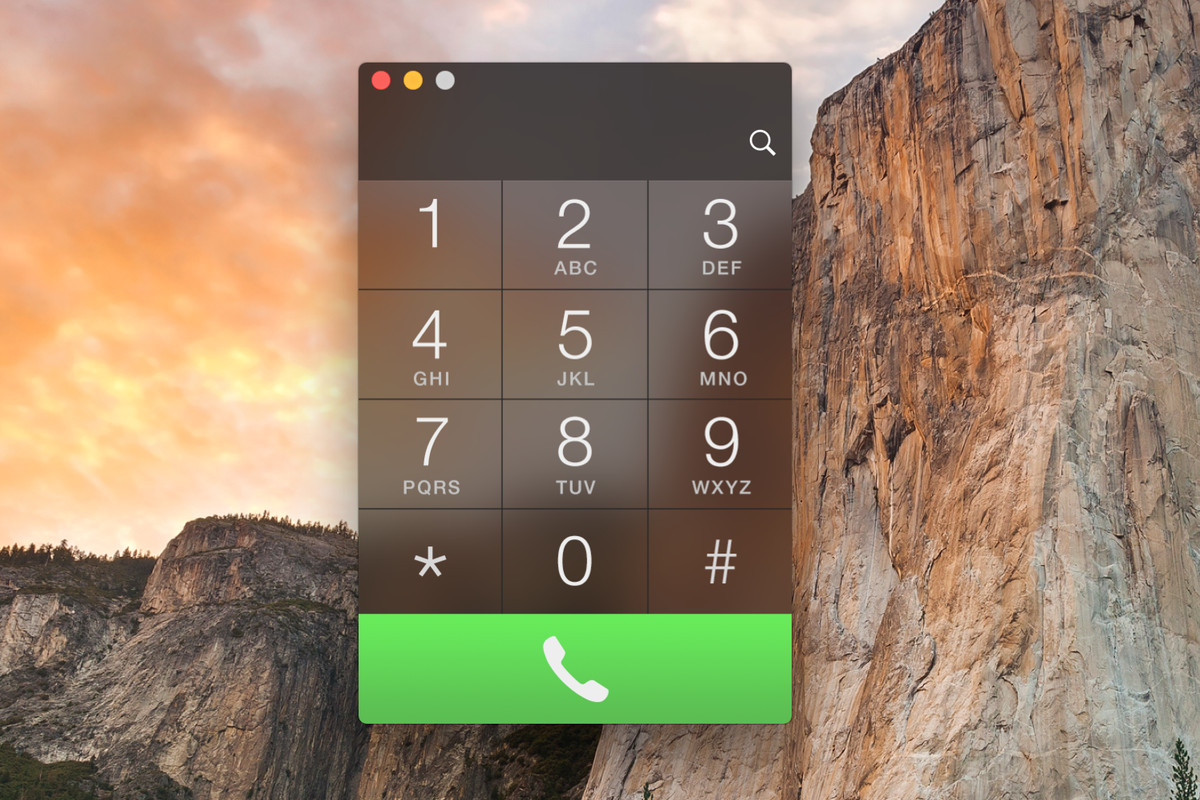 Here's the phone dialer Apple should have included with OS X