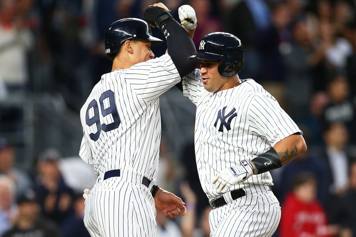 half off 80f54 7020e Aaron Judge and Gary Sanchez lead Yankees' youth movement in ...