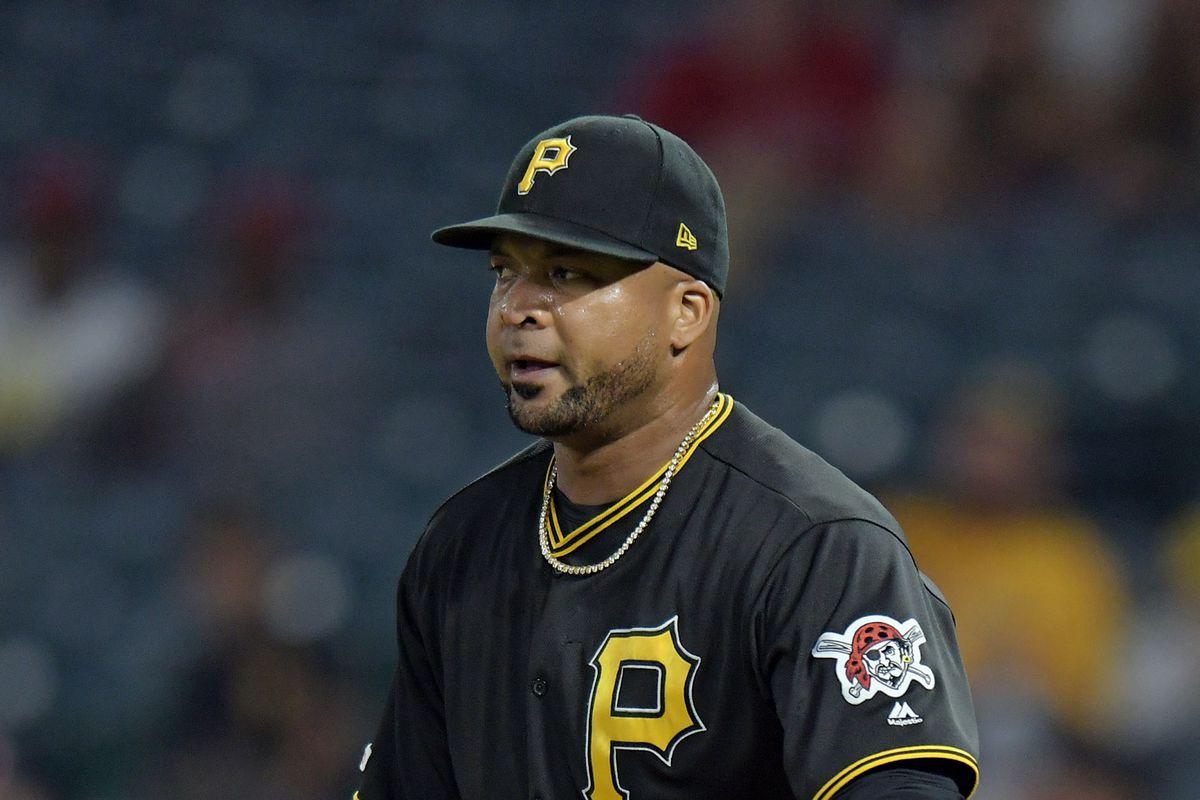 MLB: AUG 13 Pirates at Angels