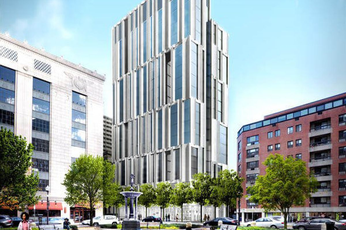 tiny bay village could get big apartment tower curbed boston