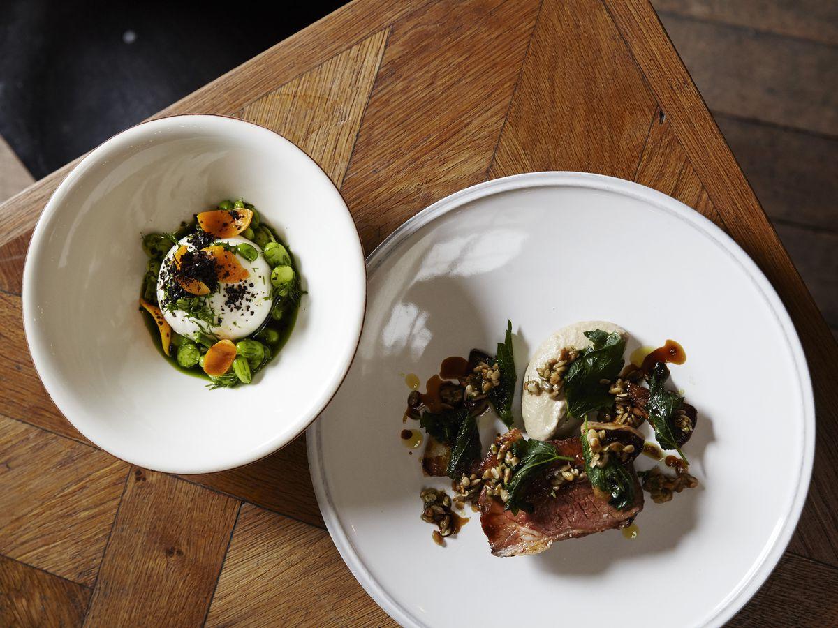 Best restaurants in Vauxhall London: Brunswick House