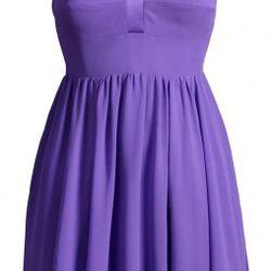 Silk dress, $149