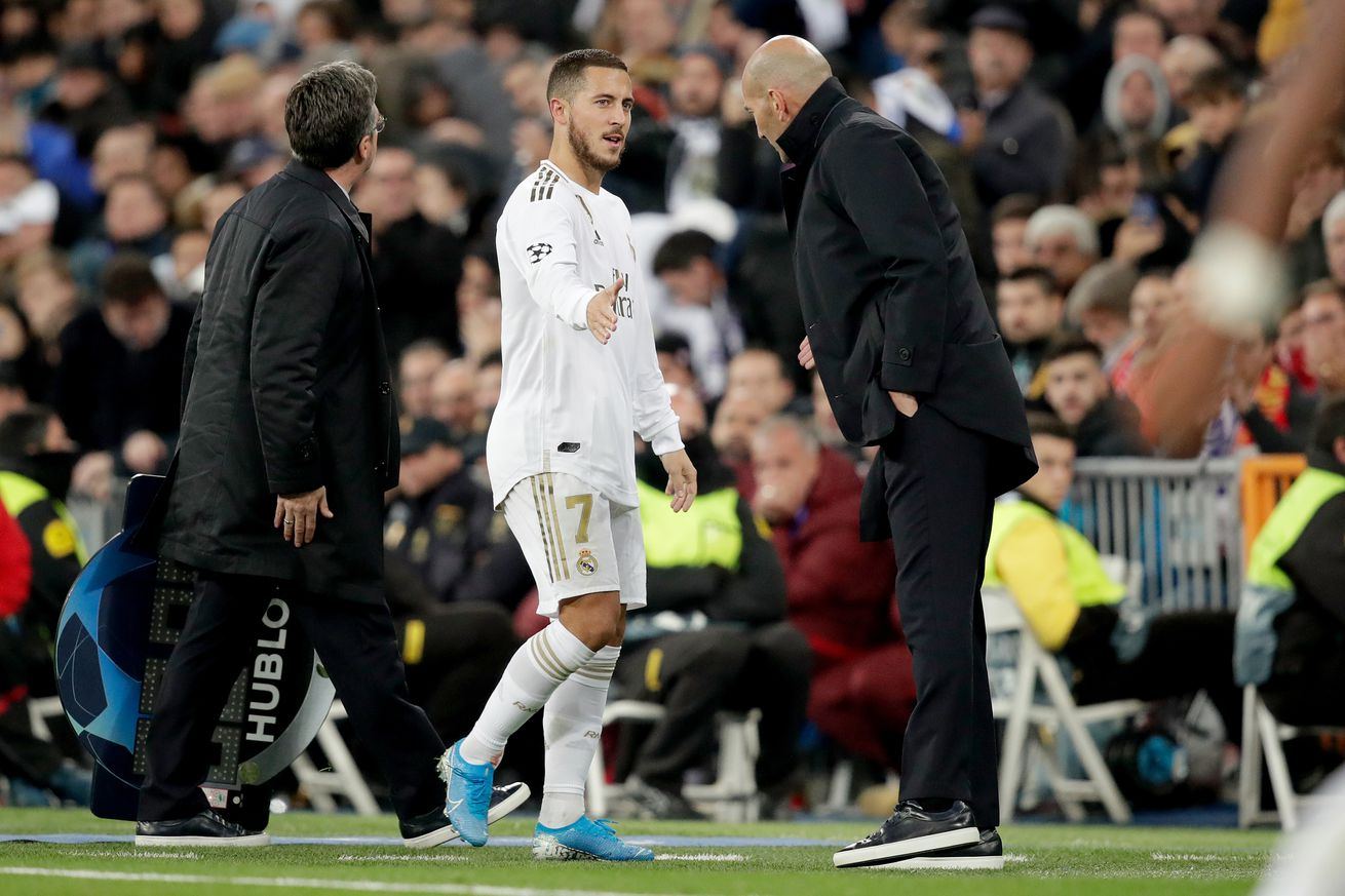 The full extent of Eden Hazard?s injury didn?t come as a complete surprise to Zinedine Zidane