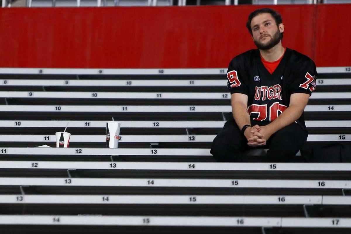 Sad, Lonely Rutgers Fan