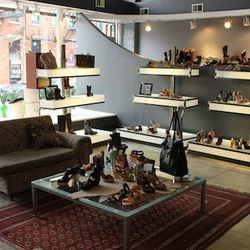 """Located on the corners of North Avenue, Milwaukee and Damen, you can't miss this European heeled haven, <a href=""""http://www.citysoles.com/"""">City Soles</a>. The knowledgeable sales associates are eager to help and will not hesitate to pick out the perfect"""