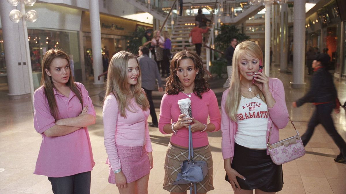 a day at the mall in Mean Girls