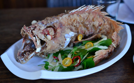 E&O Kitchen and Bar Whole Crispy Fish