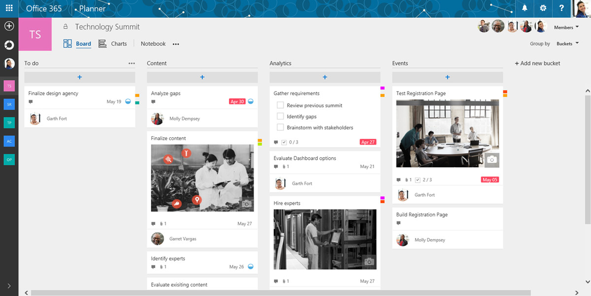 microsoft launches a project management app called planner the verge