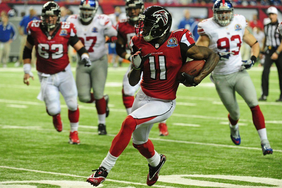 The Falcons silenced a lot of critics on Sunday.