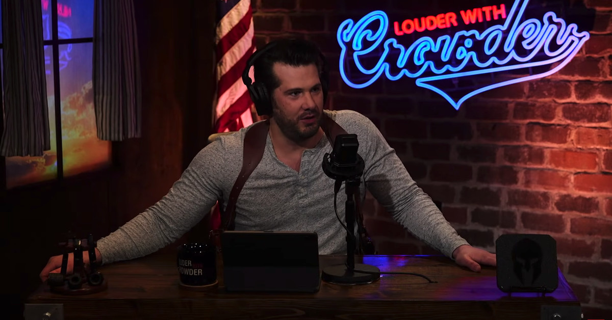 YouTube pulls racist Steven Crowder video for violating COVID misinformation policies