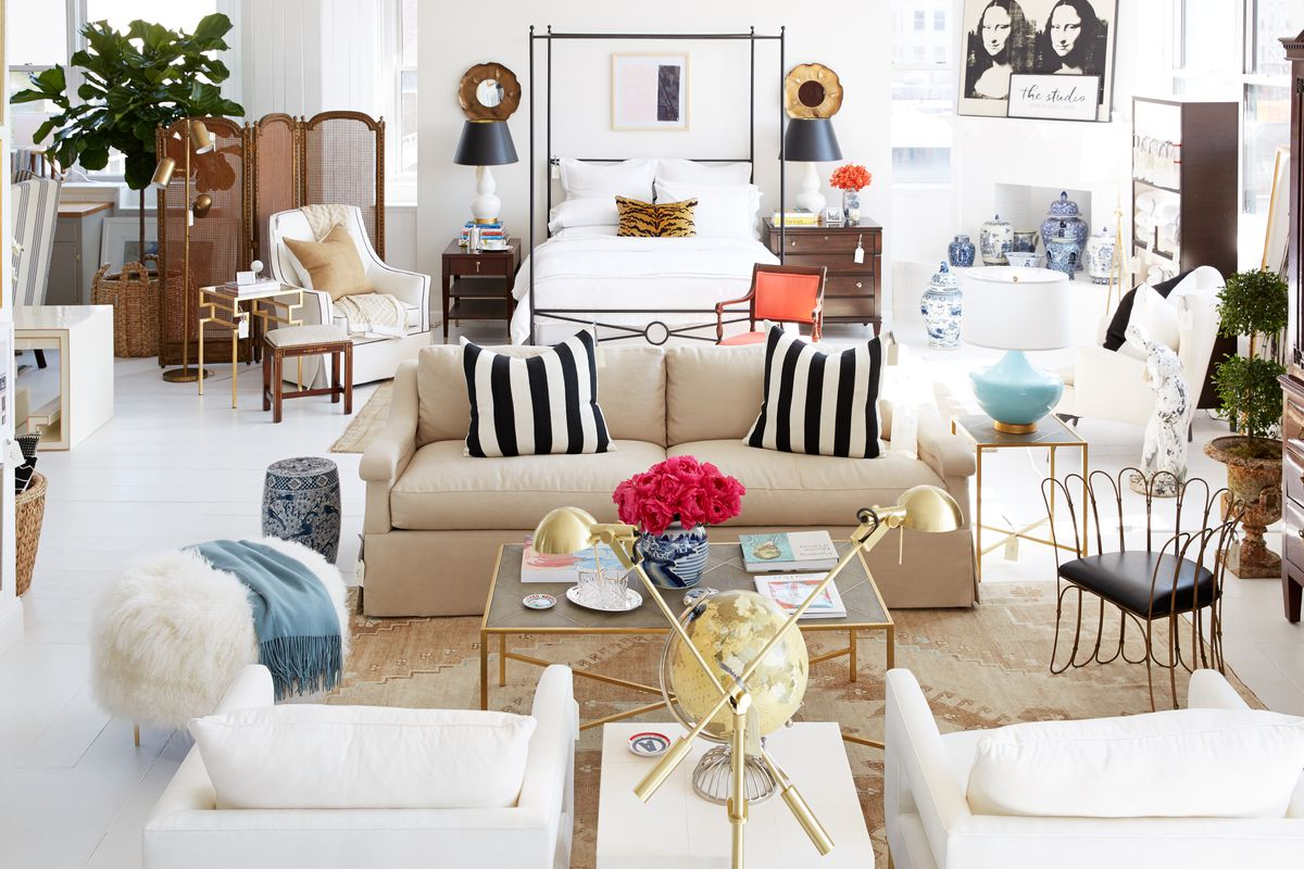 One Kings Lane is the latest e tailer to take its business brick and  mortar  The home goods site just set up an appointment only shoppable  studio in its. One Kings Lane Just Opened a Shoppable Showroom in Tribeca   Racked NY