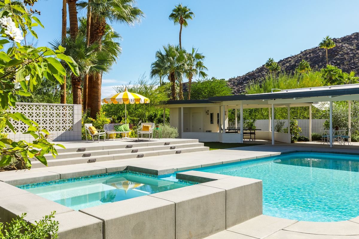 Palm springs midcentury with pool and panoramic views asks 2 6m curbed - Singular kitchen las palmas ...