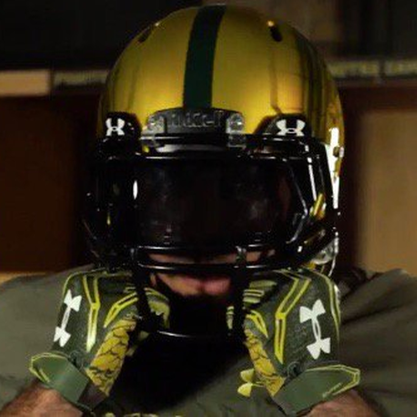 71f4f0784 Notre Dame Unveils 2016 Shamrock Series Uniforms - One Foot Down