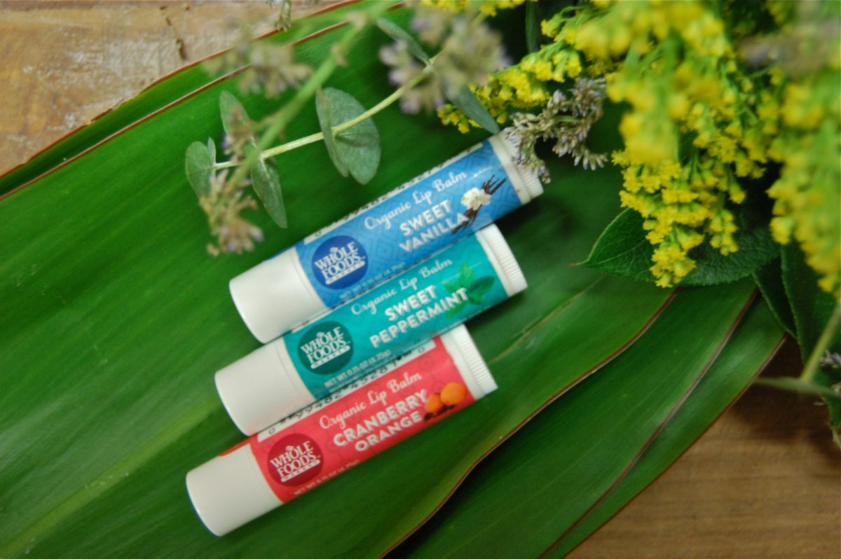 Whole Foods Organic Peppermint Lip Balm