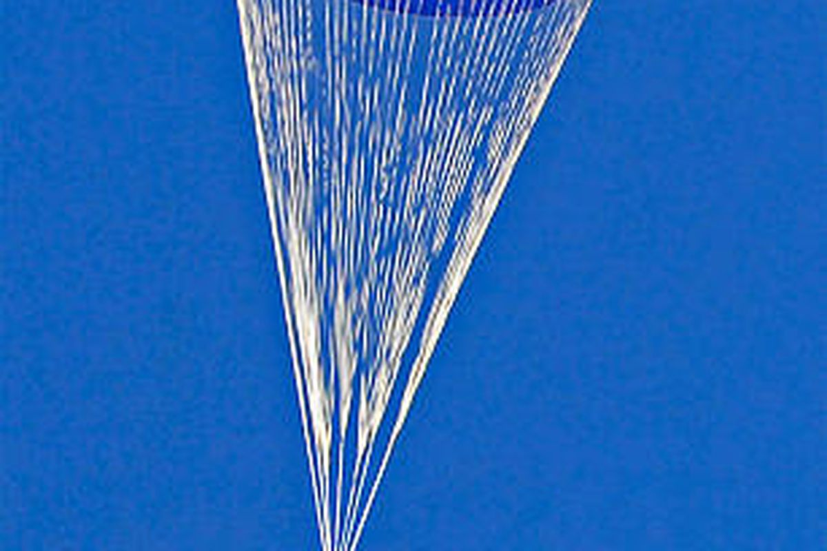 All Stars Pump Booster Test atk tests the largest parachute in the world - deseret news