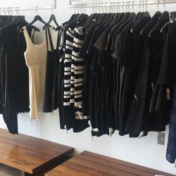LBDs from Rag & Bone, Iro, Theory, and others.