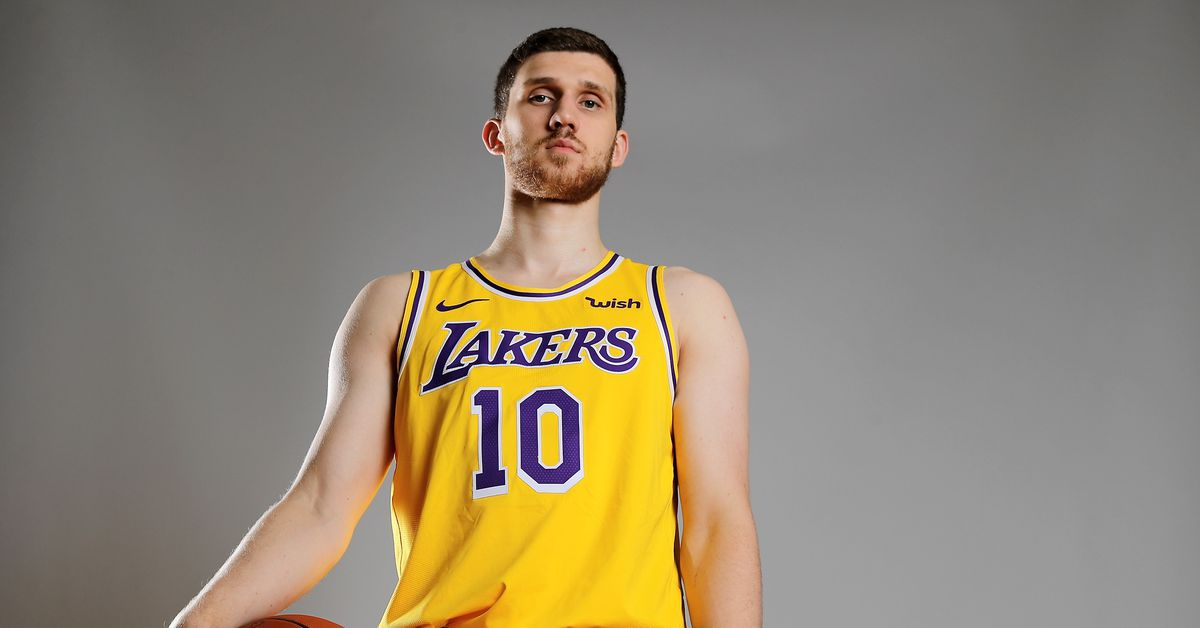 0619032ca428 Lakers News  Svi Mykhailiuk voted second-best shooter in NBA Rookie Survey  - Silver Screen and Roll
