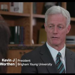 In a video released this morning by BYU, university President Kevin Worthen talks about how the school is working to improve its response to victims who report sexual assaults.