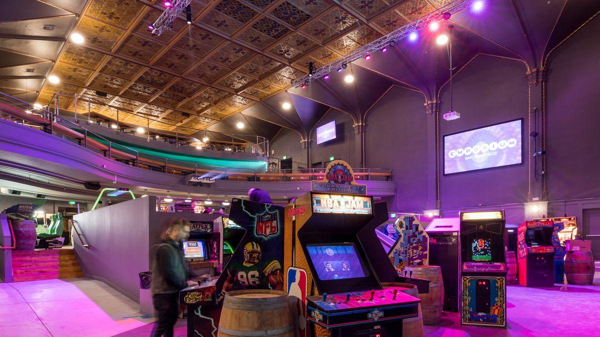 Enter Emporium An Arcade Bar And Venue In A Long Vacant