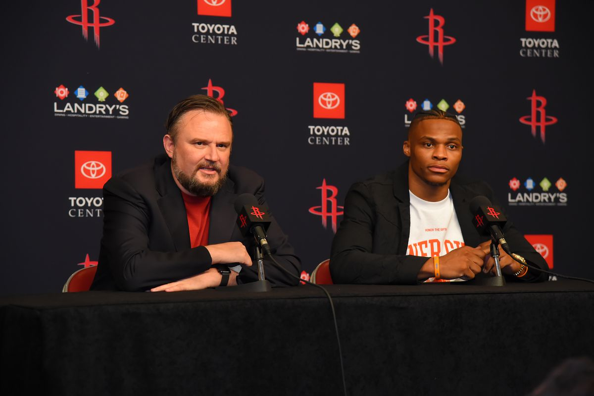 Houston Rockets Introduce Russell Westbrook - Press Conference