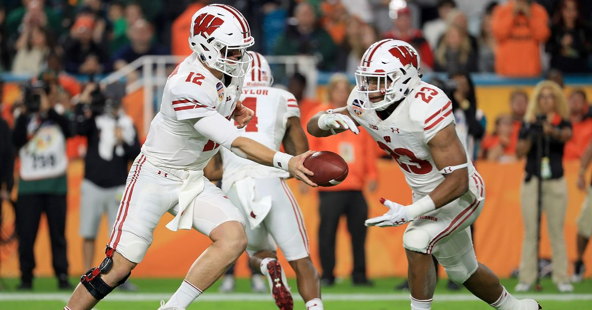 College football polls: Wisconsin ranked No. 4 in ...