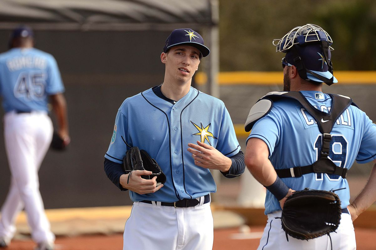 Blake Snell was again ranked as the top prospect in the organization