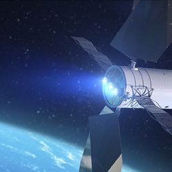 NASA's proposed solar powered, asteroid-grabbing spacecraft