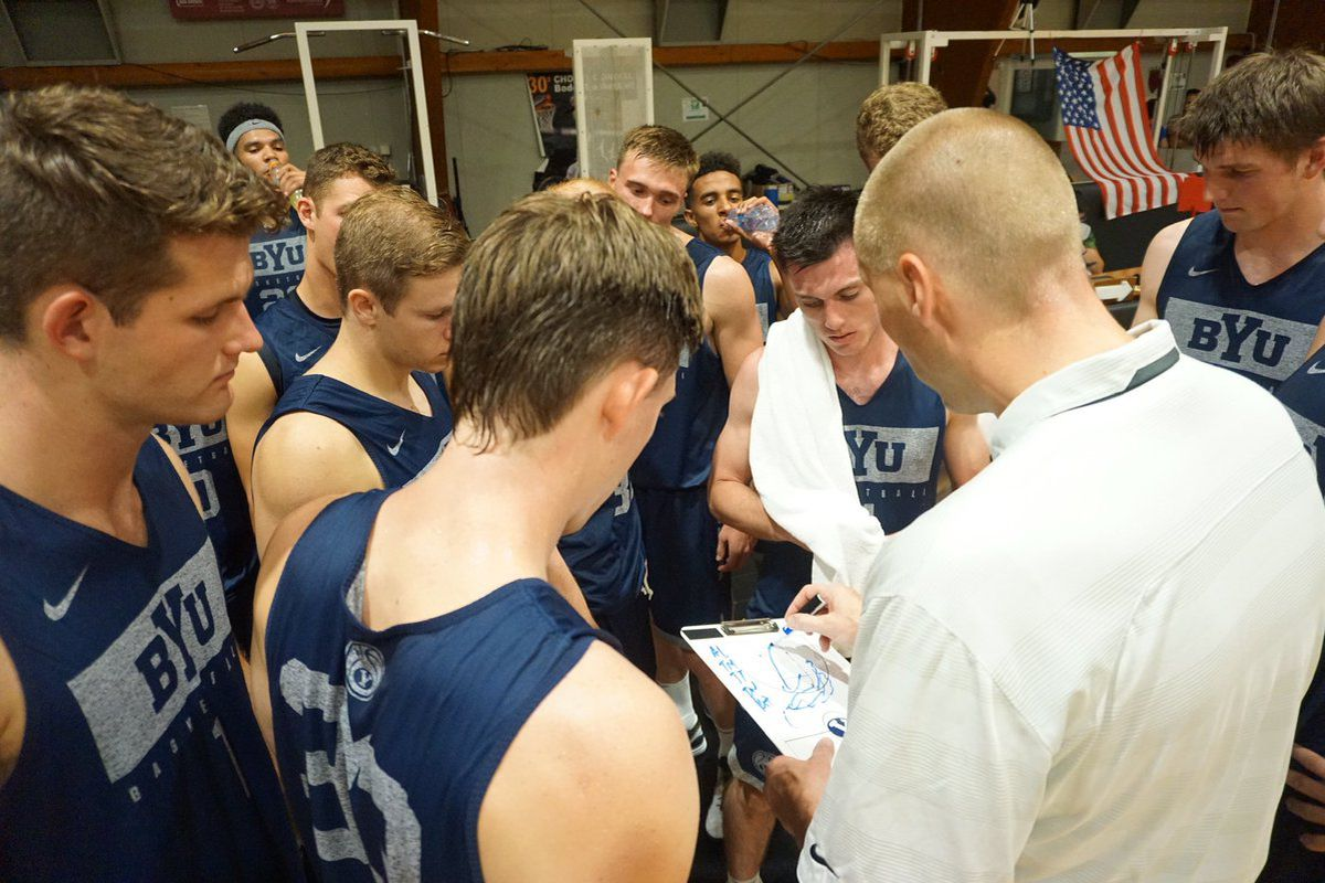 BYU Italy Timeout